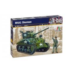 Model Kit tank 0225 - M4 A1 SHERMAN (1:35)