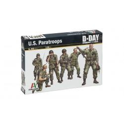 Model Kit figurky 0309 - U.S. PARATROOPS (1:35)
