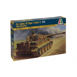 Model Kit tank 6507 - Pz.Kpfw.VI TIGER Aj Ausf.E mid production (1:35)