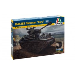 Model Kit tank 6529 - M4A3E8 SHERMAN (1:35)