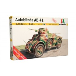 Model Kit military 6605 - Autoblinda AB 41 (1:48)