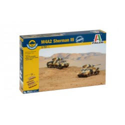 Fast Assembly tanky 7511 - M4A2 SHERMAN III (1:72)