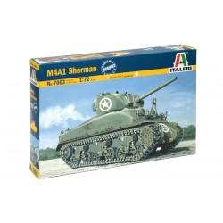 Model Kit tank 7003 - M4 SHERMAN (1:72)