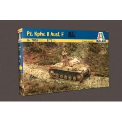 Model Kit tank 7059 - Pz.Kpfw. II Ausf. F (1:72)