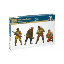 Model Kit figurky 6131 - WWII - ANTI TANK TEAMS (1:72)