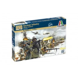 Model Kit figurky 6151 - WWII - GERMAN INFANTRY (Winter Uniform) (1:72)