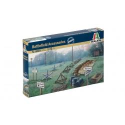 Model Kit doplňky 6049 - WWII - BATTLEFIELD ACCESSORIES (1:72)