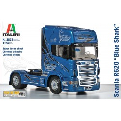"Model Kit truck 3873 - SCANIA R620 ""BLUE SHARK"" (1:24)"