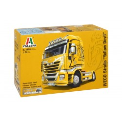 "Model Kit truck 3898 - IVECO STRALIS ""YELLOW DEVIL"" (1:24)"