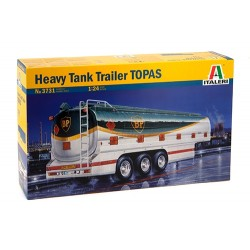 "Model Kit návěs 3731 - HEAVY TANK TRAILER ""TOPAS"" (1:24)"