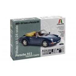 Model Kit auto 3679 - PORSCHE 911 CARRERA CABRIO (1:24)