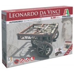 Leonardo Da Vinci 3101 - SELF Propelling CART (11 cm)