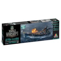 Model Kit World of Warships 46502 - IJN ATAGO (1:700)