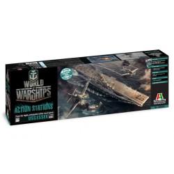 Model Kit World of Warships 46503 - U.S.S. ESSEX (1:700)