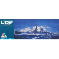 Model Kit loď 0507 - LUTZOW (1:720)