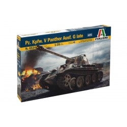 Model Kit tank 6534 - Pz.Kpfw. V Panther Ausf. G late (1:35)