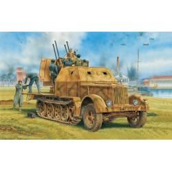 Model Kit military 6533 - Sd.Kfz.7/1 2cm Flakvierling 38 w/Armor Cab (2 in 1) (1:35)