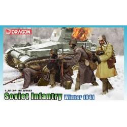 Model Kit figurky 6744 - Soviet Infantry Winter 1941 (1:35)