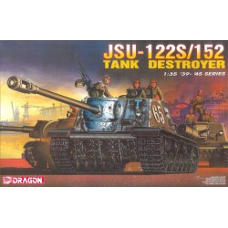Model Kit military 6047 - JSU 122S/152 Tank Destroyer (1:35)