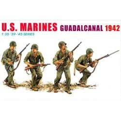 Model Kit figurky 6379 - U.S. MARINES, GUADALCANAL 1942 (1:35)