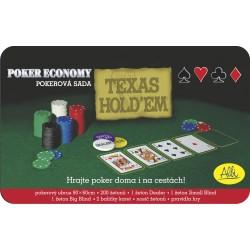 Pokerová plechová dóza