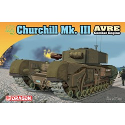 Model Kit tank 7327 - Churchill Mk.III AVRE (1:72)
