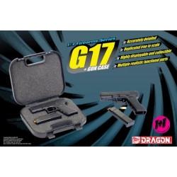 Model Kit zbraň 1301 - G17 + GUN CASE (1:3)