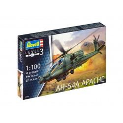 Plastic ModelKit vrtulník 04985 - AH-64A Apache (1:100)