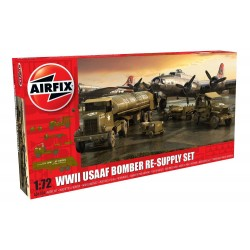 Classic Kit dioráma A06304 - USAAF 8TH Airforce Bomber Resupply Set (1:72)