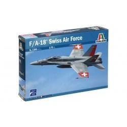 Model Kit letadlo 1385 – F/A 18 SWISS AIR FORCE (1:72)