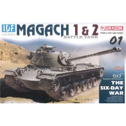 Model Kit tank 3565 - 1/35 IDF Magach 1 & 2 (2 in 1) (1:35)