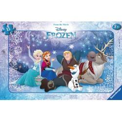 Disney Ľadové kráľovstvo 15 dielikov