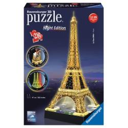 Eiffelova veža (Nočná edícia) 3D 216D