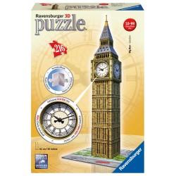 Big Ben s hodinami 216 dielikov