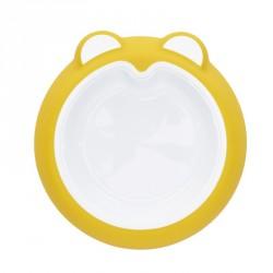 Badabulle talíř ANTI-SLIP Sunshine Yellow