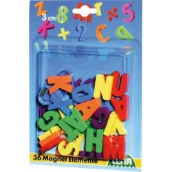 Magnetické písmená veľké, 30 mm