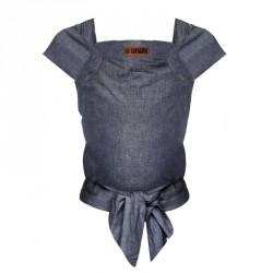 ByKay nosítko MEI TAI Classic Dark Jeans (vel. batole)