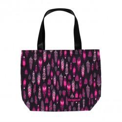 Plátěná taška peříčka