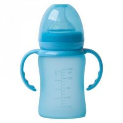 Bo Jungle skleněná láhev s úchyty B-Thermo 150ml Turquoise