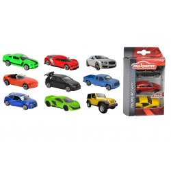 DDC Street Cars 3 ks, 3 druhy