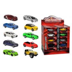 Autíčko kovové Street Cars, DP40,10 druhov