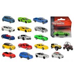 Autíčko kovové Street Cars, 18 druhů