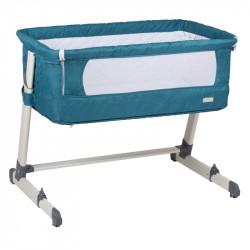BabyGo postýlka Together Turquoise