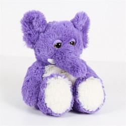 Hřejivý slon fialový