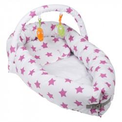 BabyGo hnízdečko BettNest Pink