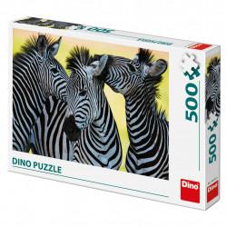 Tri zebry 500D