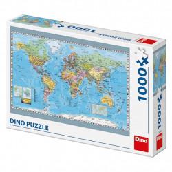 Politická mapa sveta 1000D