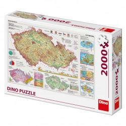 Mapy českej republiky 2000D