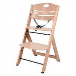 BabyGo jídelní židlička FAMILY XL Natural