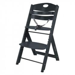 BabyGo jídelní židlička FAMILY XL Black